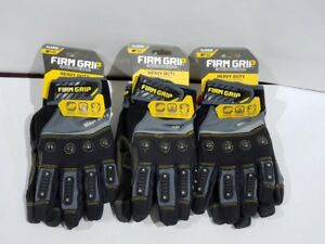 Firm Grip Heavy Duty X large Glove lot Of 3 55298 06