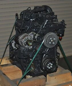 Fpt Iveco Diesel Engine F4ce0354a D 75 Hp Skid Loader Replacement Engine