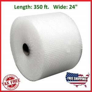 Bubble Wrap 3 16 350 Ft X 24 Small Padding Perforated Shipping Moving Roll