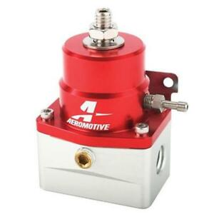 Aeromotive A1000 Red Fuel Pressure Regulator Universal Efi Bypass 13109
