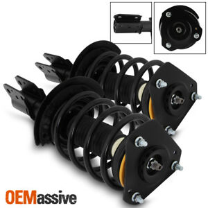Fit 04 08 Pontiac Grand Prix Front Complete Struts Coil Springs Assembly W mount