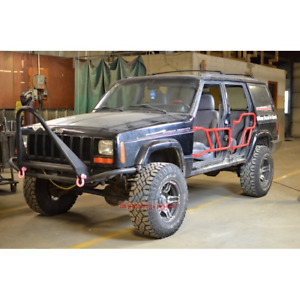Steinjager Front Tube Door Kit For 4 Door Jeep Cherokee Xj 1997 2001 J0047644