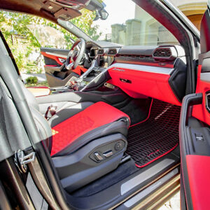 Lamborghini Urus Bespoke Eco Leather Floor Mats 2018 2019
