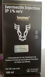 Ivomec Injectable Cattle Sheep Dewormer 100 Ml Merial Exp 10 2020