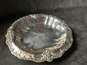 International Silver Company Silverplate Small Round Dish Tray 7 3 4 Diameter