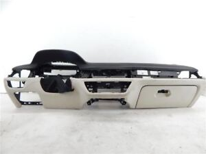 07 15 Bmw 750i Oem Black Tan Leather Front Dashboard Assembly