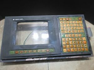 Daewoo 12l Cnc Lathe Vision Crt Keyboard Display 380l 0pc96l016 Opc96l016 Panel