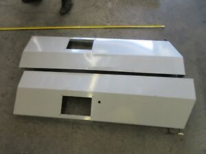 Haas Vf4 Cnc Vertical Mill Lower Metal Front Panels Panel Lot Of 2