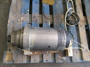 Matsui Seiki Cnc Vertical Mill Raytheon Spindle Z Axis Head Cartridge Assembly