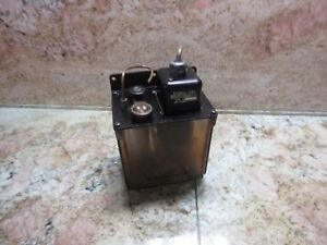 Lube Corp Automatic Lubrication System Tank Pump Model Mmxl 30 Min Interval