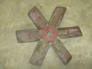 Ih Farmall 560 Diesel Fan Blade Antiquetractor
