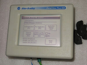 Ab Panelview Plus Compact 600 2711pc t6m20d d Mono Touch Enet New Tested 2011