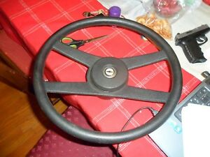 71 81 1971 1980 Oem Camaro Chevelle 4 Spoke Steering Wheel Rare Black 9752584