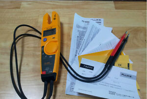 Fluke T5 600 Clamp Continuity Current Electrical Tester New