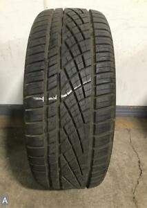 1x P225 45r17 Continental Extremecontact Dws06 9 10 32 Used Tire