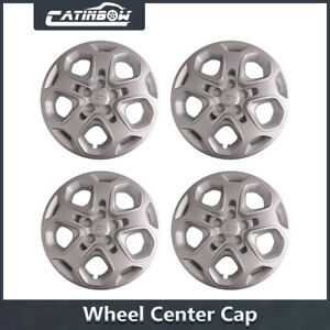 4 For 2010 2011 2012 Ford Fusion 17 Wheel Covers Rim Hub Caps 5 Spoke Full Hubs