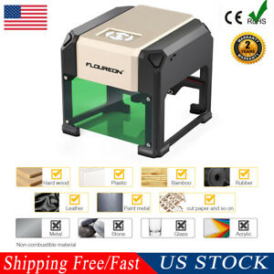 New 3000mw Laser Engraver Engraving Machine High Speed Paper Carving Wood Cutter