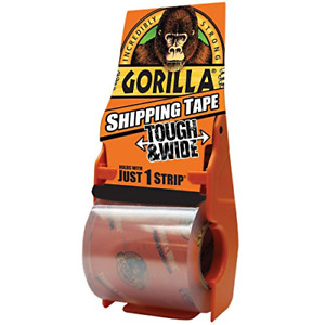 Boxes Fast Gorilla Shipping Tape 3 4 Mil 3 X 36 Yds Clear Pack Of 1