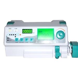 Medical Injection Infusion Syringe Pump With Alarm Kvo For Veterinary human Use