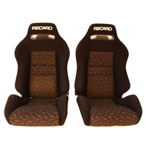 2 Jdm Recaro Sr3 A8 Rare Reclinable Bucket Racing Seats Honda Bmw Cars 55 Off