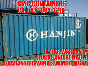20 Ft Steel Cargo Shipping Storage Container Baltimore Md Maryland Containers