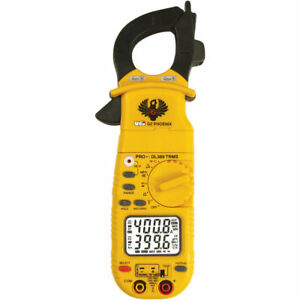 Uei Dl389 G2 Phoenix Pro Plus True rms Ac Clamp Meter With Test Leads