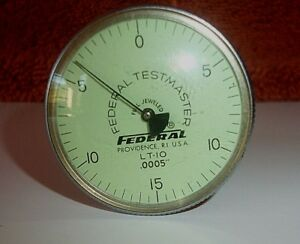 Federal Gauge Test Master Lt 10 0005 Full Jeweled Good Condition