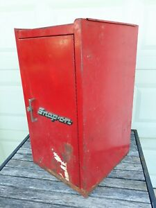 Vtg Snap On Tools Kr286 3 Three Drawer Side Tool Chest Box Hanger Cabinet Canada