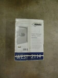 Amsec West2114 Electronic Lcd Touch Screen Wall Safe New In Mfg Box Free Ship