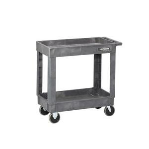 New Craftsman 2 shelf Heavy duty Utility Cart 59732 Freeshipping