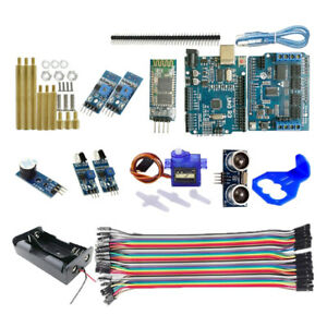 Ultrasonic Ir Starter Kits For Arduino With Sg 90 Servo Bluetooth Control