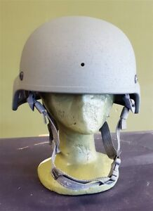 NEW GENTEX Ballistic ACH MICH Helmet Large with Multicam Helmet Cover