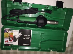 Leister Triac St Plastic Welder Hot Air Heat Gun