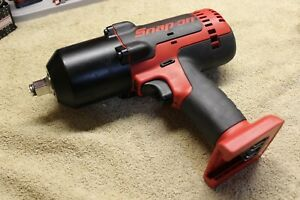 New Snap On 18v 1 2 Drive Cordless Monster Lithium Impact Wrench Ct8850 Read
