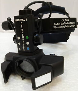 Binocular Indirect Ophthalmoscope With Rechargeable Battery Free Shipping