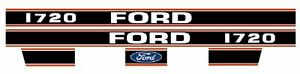 Made To Fit Ford Decal Ford 1720 S 67844 1720 Sba390115720 Sba390115730 Sba3