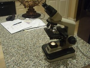 Nikon Alphaphot 2 Microscope With Two Objectives