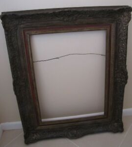 Antique Ornate Wooden Picture Frame Local Pickup Only