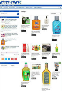 Mens Fragrance Ecommerce Website With Affiliates One Years Hosting