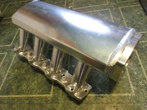 102mm Ls Chevy Fabricated Intake Manifold Ls3 L92 Tunnel Ram Square Port 6 0 6 2