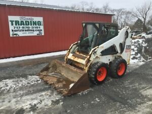 2007 Bobcat S205 Skid Steer Loader W Cab Only 1800hrs Coming Soon