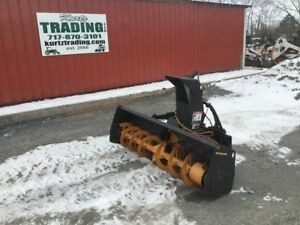 2010 New Holland 60 Snowblower For Skid Steer Loaders Or Tractors