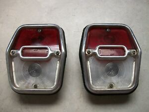 1962 1963 1964 Chevy Ii Nova Tail Lights Original Gm
