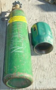 Oxygen Tank cylinder us Army special Size out Of Test used free Shipping