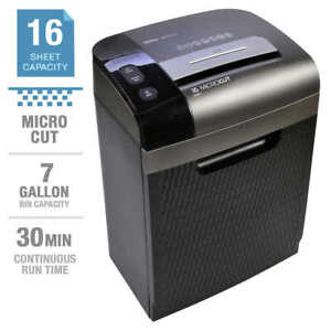 Royal 1630mc Heavy Duty Micro cut 7gal 16 Sheet Paper Shredder For Office Home