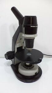 Bausch Lomb Academic Series Monocular Compound Microscope Lighted