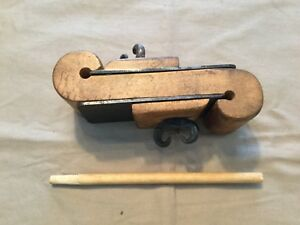 Antique Early Tool For Making Dowels Or Ramrods Primitive Furniture Gunmaking