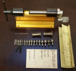 Forster Precision Case Trimmer with Box 2 Collets and 16 Pilots