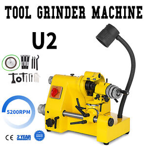 U2 Universal Tool Cutter Grinder Machine Multi functional 100mm Grinding 5200rpm