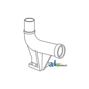 303216063 Exhaust Outlet Elbow For White Oliver Tractor 2 135 2 155 2150